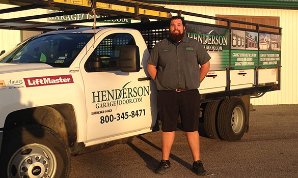 Derek L. Henderson Garage Door